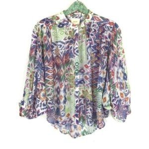 Anthropologie Maeve Top Small Blouse